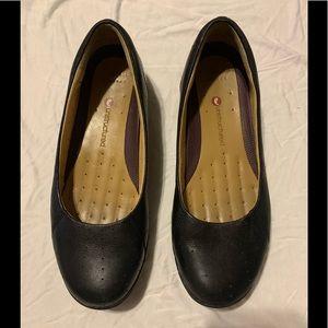 Clark's flat shoes